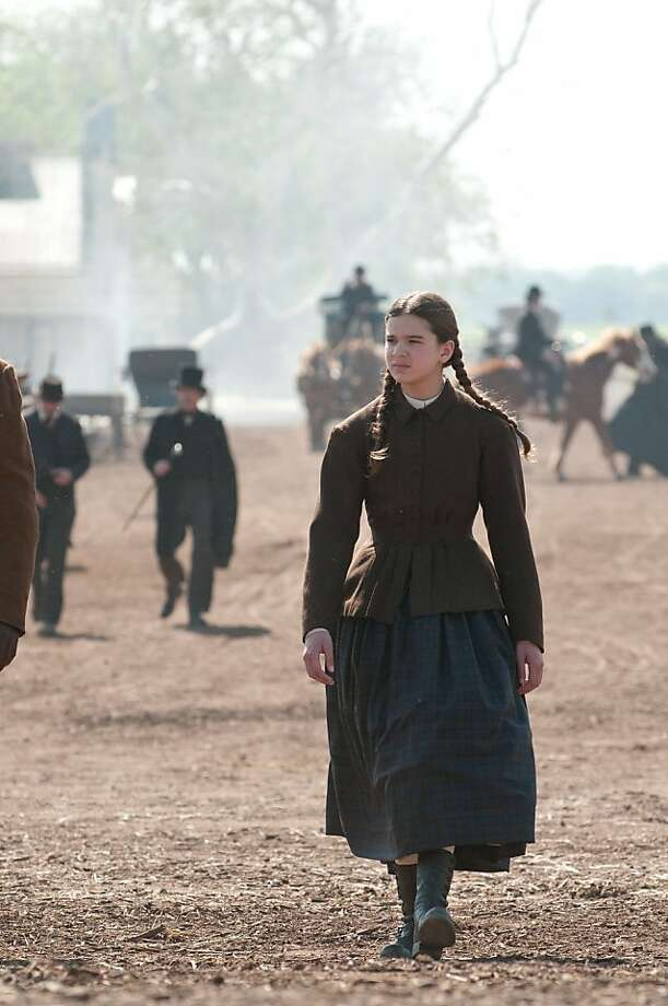 """In this film publicity image released by Paramount Pictures, Hailee Steinfeld is shown in a scene from, """"True Grit."""" Photo: Wilson Webb, AP"""
