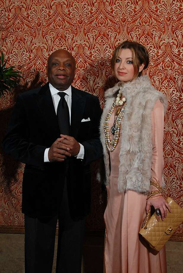 cq'd; Former Mayor Willie Brown with Sonya Molodetskaya at the 10th annual Emigre Community Gala on Jan. 29 at the Westin St. Francis in San Francisco. Photo: Steve Gaysinskiy