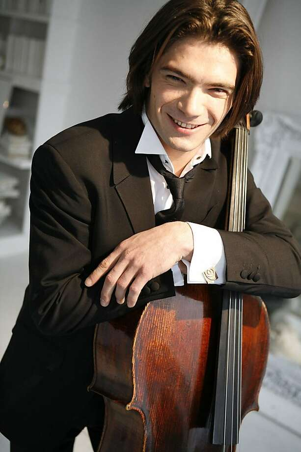 Celloist Gautier Capucon will perform with conductor Charles Dutoit with the San Francisco Symphony between April 14 to the 17 at the Davies. Photo: Courtesy SF Symphony