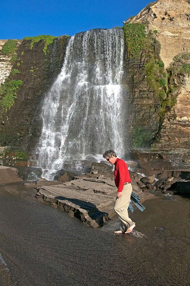 Kai Wiedman at Alamere Falls. Photo: John Flinn, Special To The Chronicle