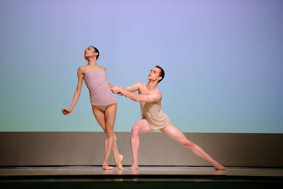 Yuan Yuan Tan and Taras Domitro in McGregor's Chroma. Photo: Erik Tomasson