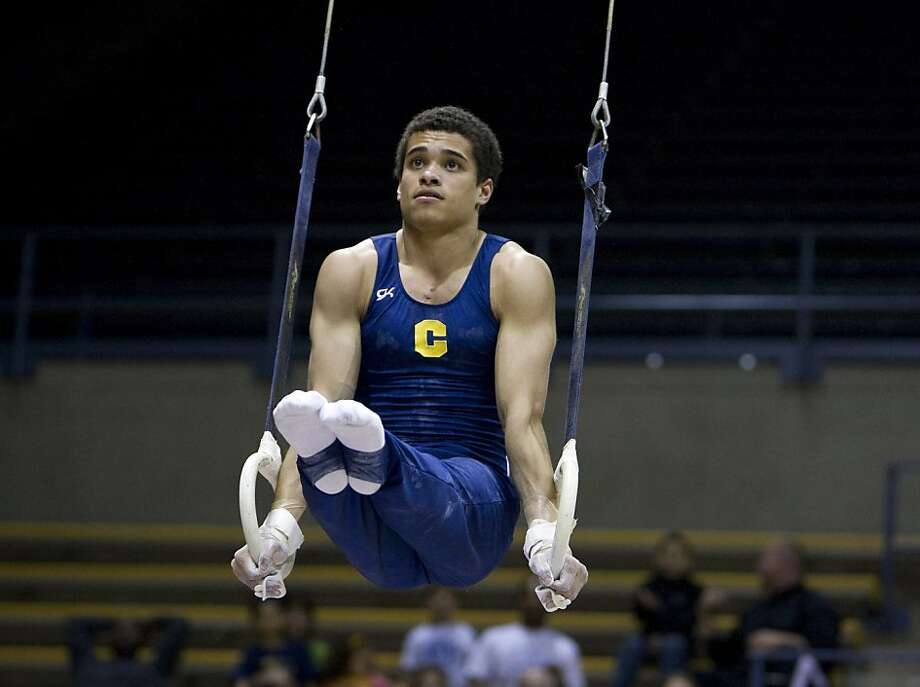 Donothan Bailey is Cal's top all-around gymnast. Photo: Courtesy GoldenBearSports.com