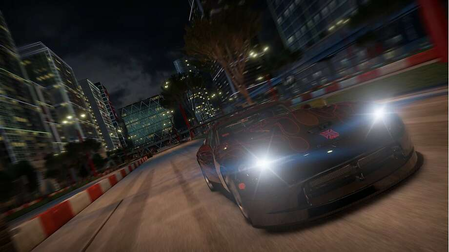 Shift 2 takes a more visceral approach to racing than most simulator-style driving games. Photo: Electronic Arts