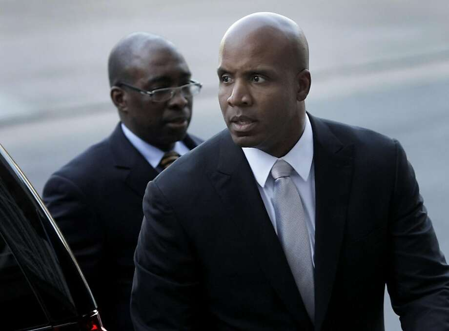 Barry Bonds arrived at the Federal building in San Francisco, Calif. Wednesday April 6, 2011 after an afternoon recess.  Bonds defense team rested his case without calling a witness. Photo: Brant Ward, The Chronicle