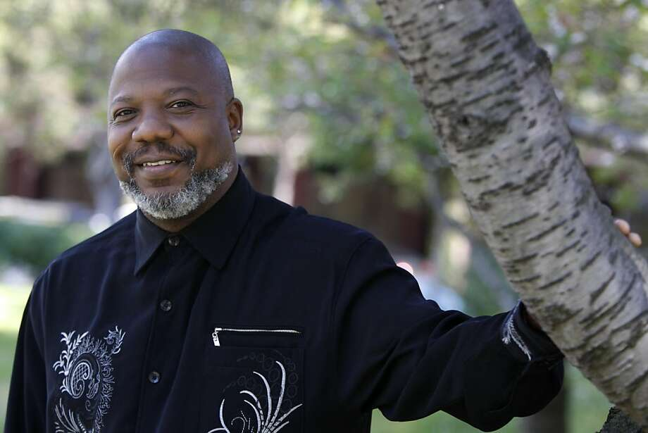 2011 Goldman Environmental Prize recipient Hilton Kelley of Texas poses for a portrait in Sydney G. Walton Square in San Francisco, Calif., on Friday, April 8, 2011. Photo: Thomas Levinson, The Chronicle