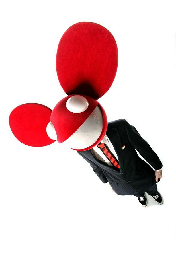 Deadmau5 is the stage name for Canadian house music producer Joel Thomas Zimmerman, who typically performs in costume. Photo: Ultra