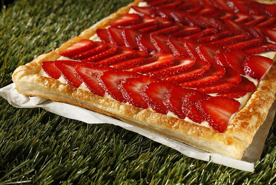 Meyer Lemon Cream Strawberry Tart: You can replace the strawberries with other berries as they come into season. Click here for the recipe. Photo: Craig Lee, Special To The Chronicle