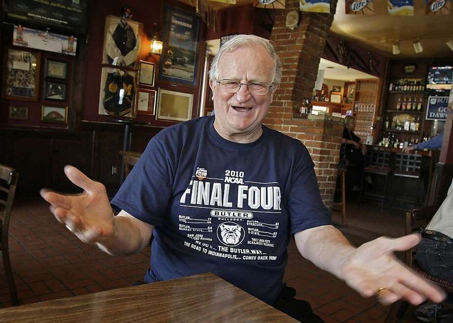 FILE - In this April 1, 2010 file photo, Bobby Plump talks about the 1954 state high school basketball championship game between Milan and Muncie Central , in his restaurant north of downtown Indianapolis. Photo: Darron Cummings, AP