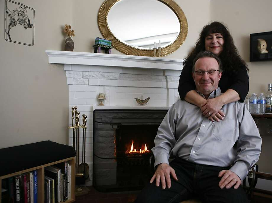 Victoria Karno and Mark Cassidy met in Scotland. Photo: Anna Vignet, The Chronicle