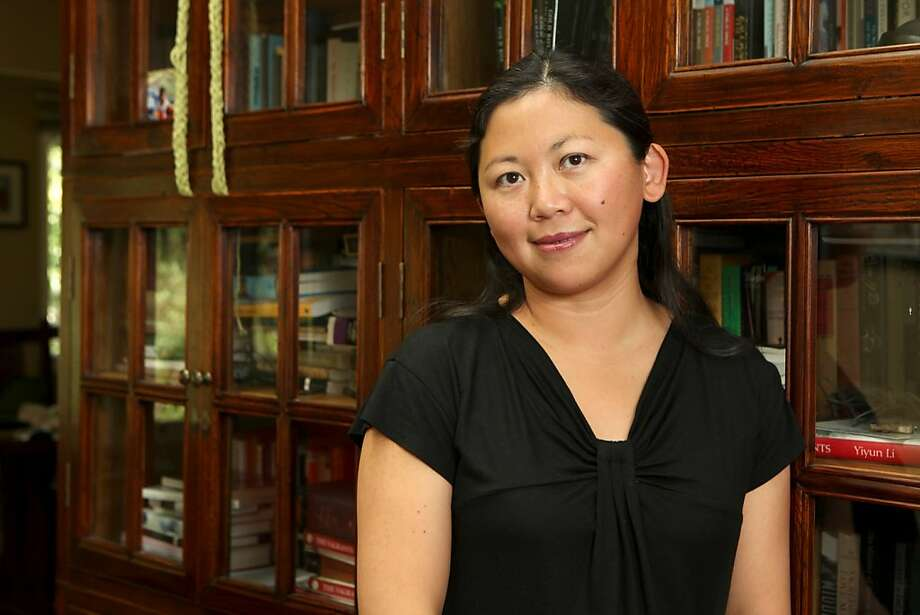 Author, Yiyun Li at her home in Oakland in 2010. Photo: Kat Wade, Special To The Chronicle