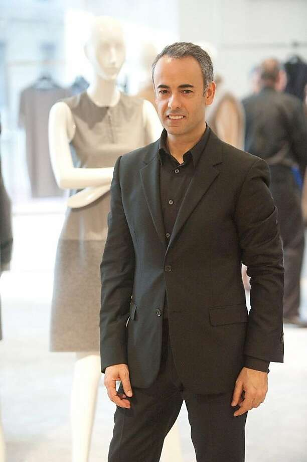 Francisco Costa, the longtime head designer for Calvin Klein, visited San Francisco on March 30 for a private shopping event at Saks Fifth Avenue. Photo: Susana Bates, Drew Altizer Photography