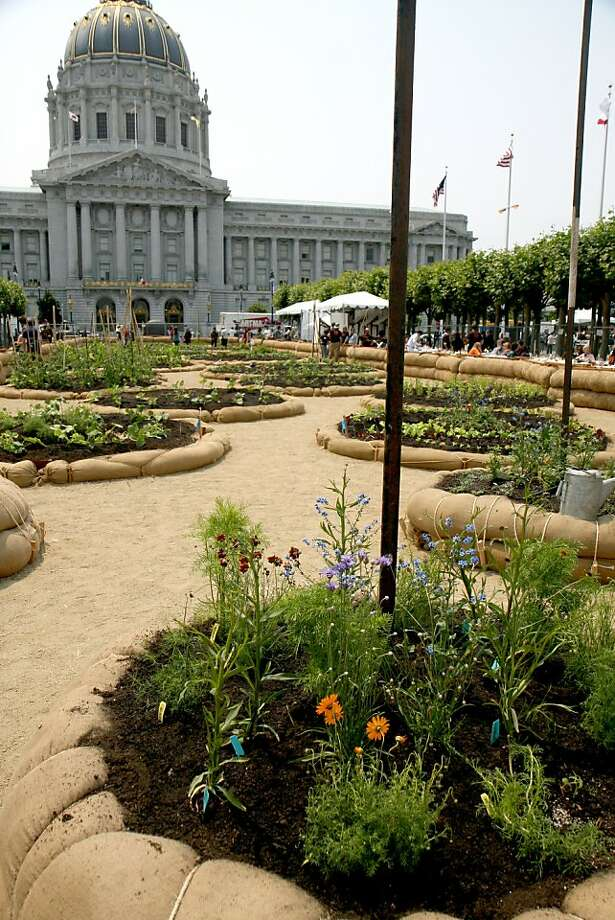 Slow Food Victory Garden at Civic Center. Photo: Blair Randall Unknown