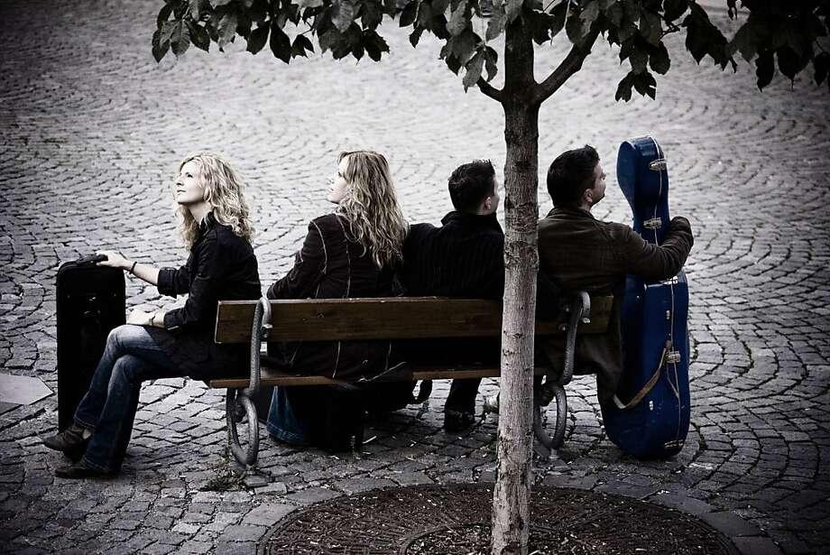 The Pavel Haas Quartet Photo: SF Performances