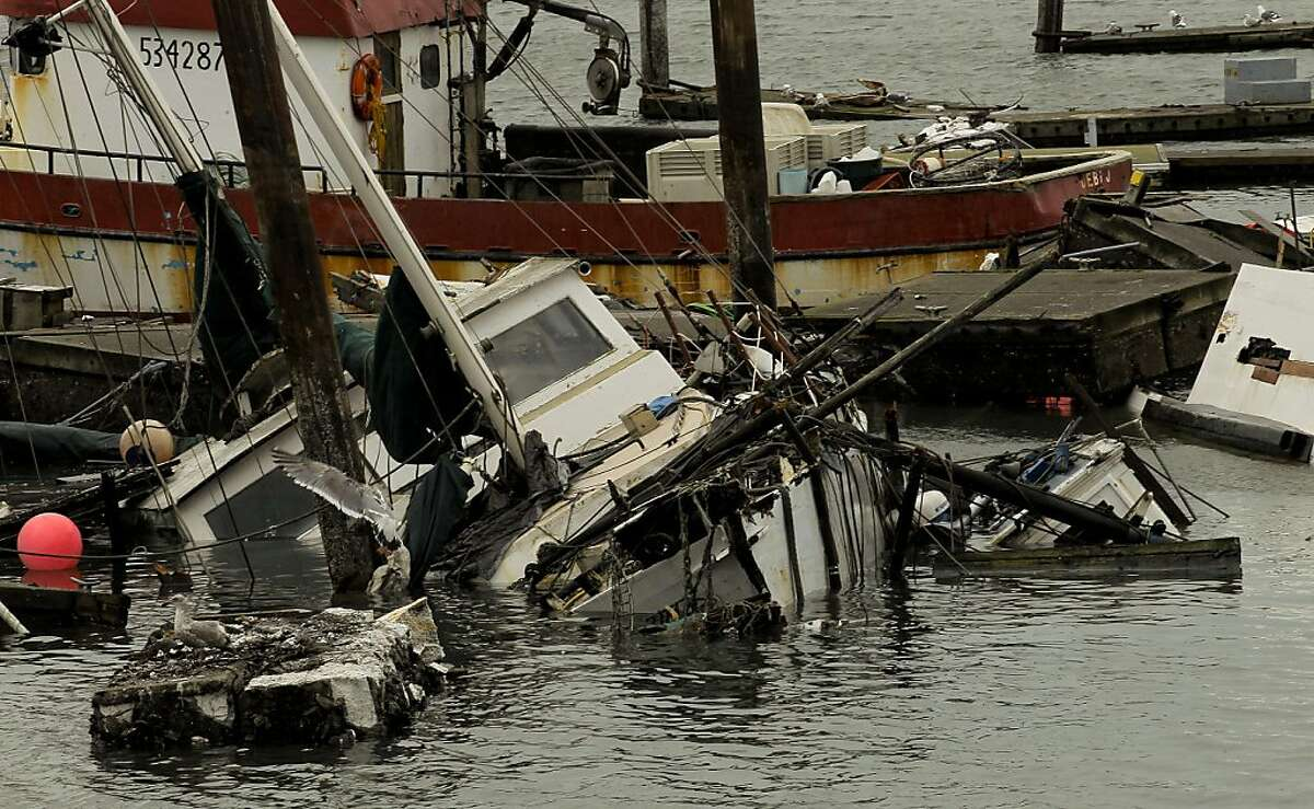 The Crescent City Harbor sustained the most damage of any harbor along the California coast after the Japan earthquake triggered a tsunami.