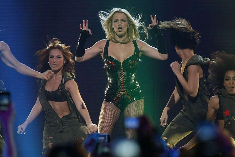 Britney Spears performs a free concert at the Bill Graham Civic Auditorium in San Francisco Calif, as part of Good Morning America's spring concert series on Sunday March 27, 2011. Photo: Alex Washburn, The Chronicle