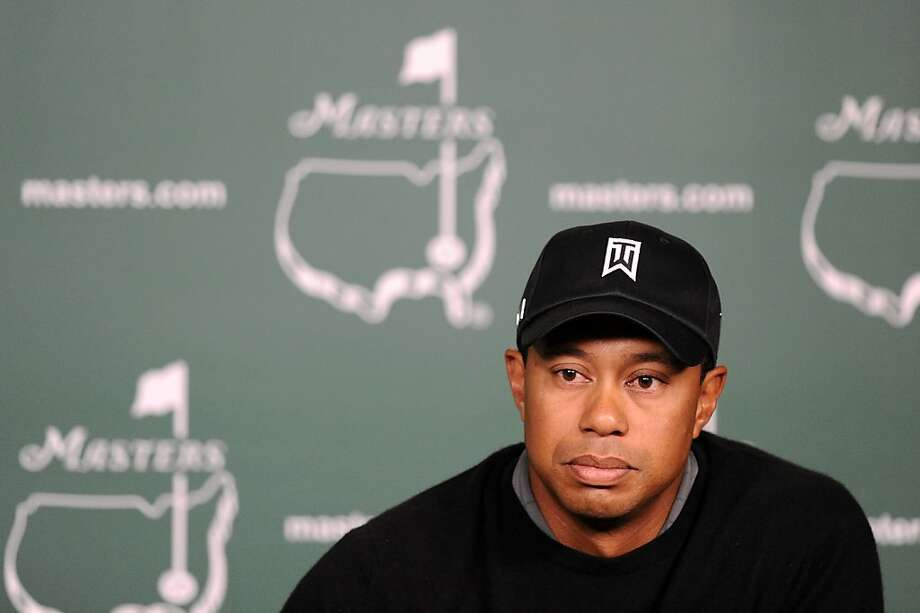 AUGUSTA, GA - APRIL 05:  Tiger Woods speaks to the media during a press conference during a practice round prior to the 2011 Masters Tournament at Augusta National Golf Club on April 5, 2011 in Augusta, Georgia. Photo: Harry How, Getty Images