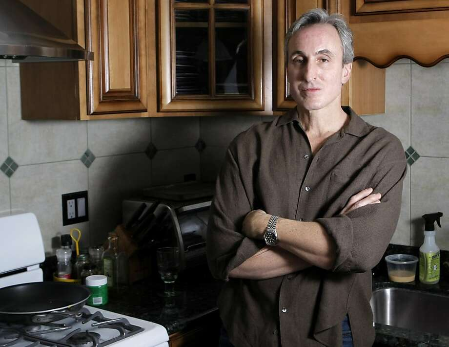 "Gary Taubes, author of ""Why We Get Fat"", poses for a portrait at his home in Berkeley, Calif., on Saturday, February 12, 2011. Photo: Thomas Levinson, The Chronicle"