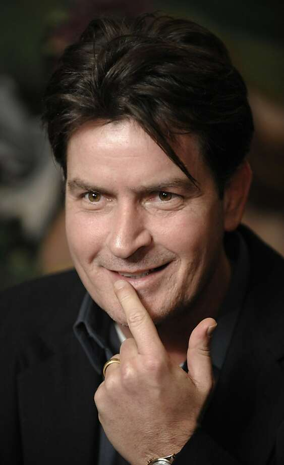 FILE - In this Jan. 28, 2009 file photo, actor Charlie Sheen is interviewed at an event in Los Angeles. The 45-year-old unemployed actor's 20-city road show kicks off Saturday, April 2, 2011 in Detroit. Photo: Chris Pizzello, Associated Press