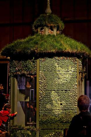 "A spectacular, Dove House, covered with hundres of succulents and topped with grasses, The Garden Route's, ""A Garden of Life"", at the San Francisco Flower and Garden show at the Event Center on Saturday Mar. 26, 2011, in San  Mateo, Ca. Photo: Michael Macor, The Chronicle"