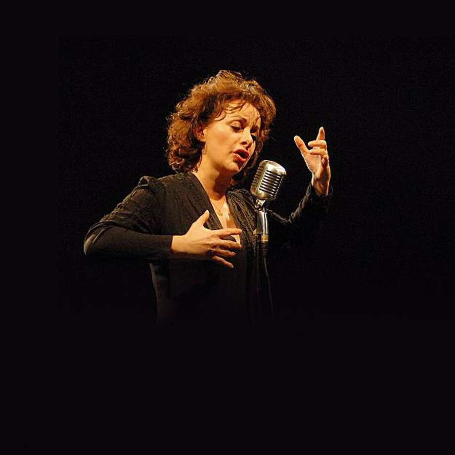 JIL AIGROT IN CONCERT: The voice of Piaf in LA VIE EN ROSE  Sunday, April 3, 4 pm Tkts:   $45 & $55  Kanbar Hall at the JCCSF, 3200 California St. Box Office:  415/292-1233 or www.jccsf.org/arts Photo: Jccsf