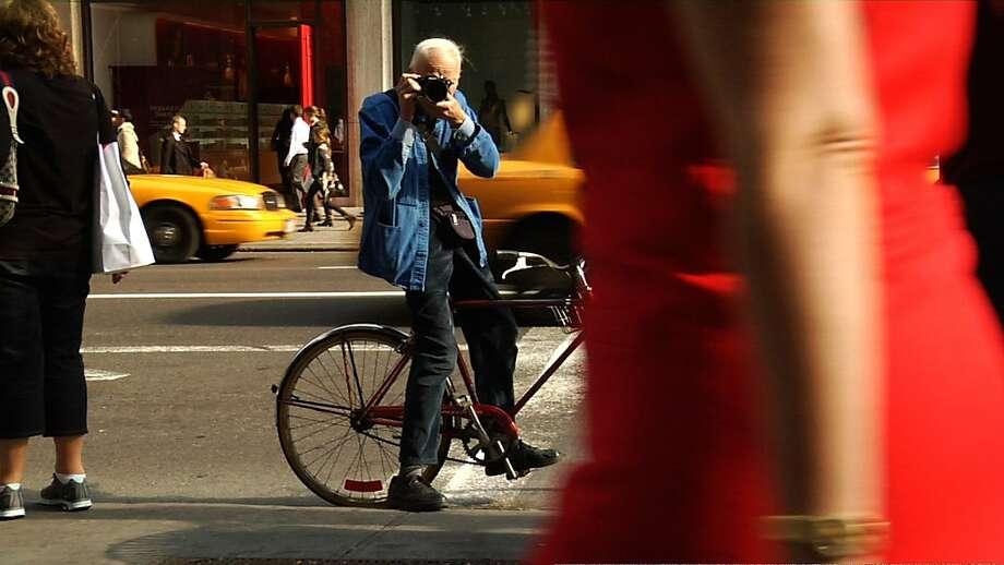 "The documentary ""Bill Cunningham New York."" Photo: Zeitgeist Films"