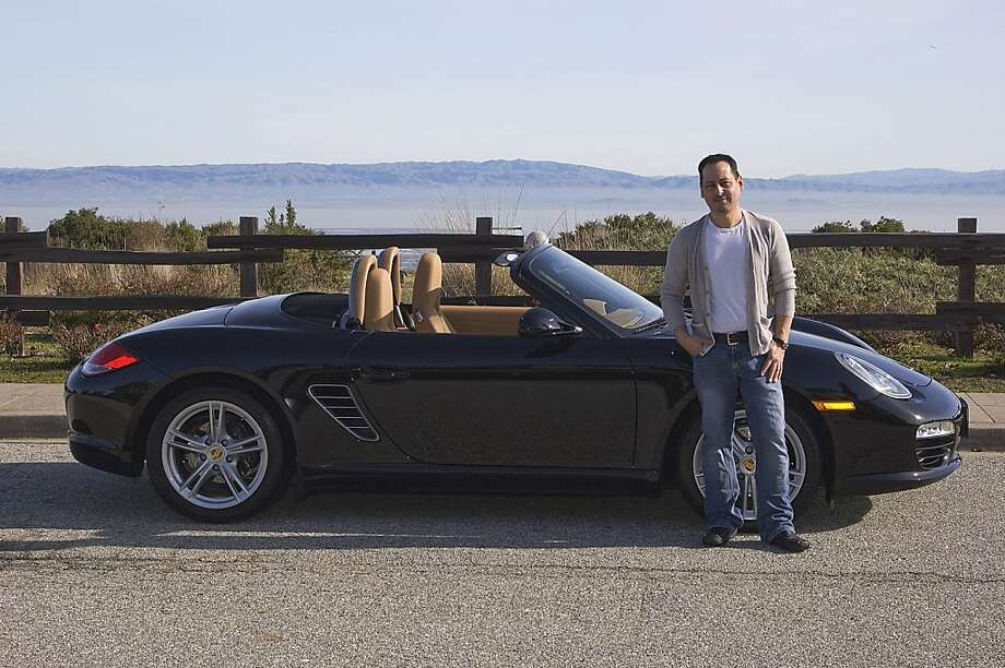 Michael Corral is a Bay Area native currently working as a Western regional sales manager for a packaging manufacturer. He lives in San Carlos with his partner and three pugs (Sid, Abby and Tucker), who have yet to set paw in the Porsche. Photo: Stephen Finerty