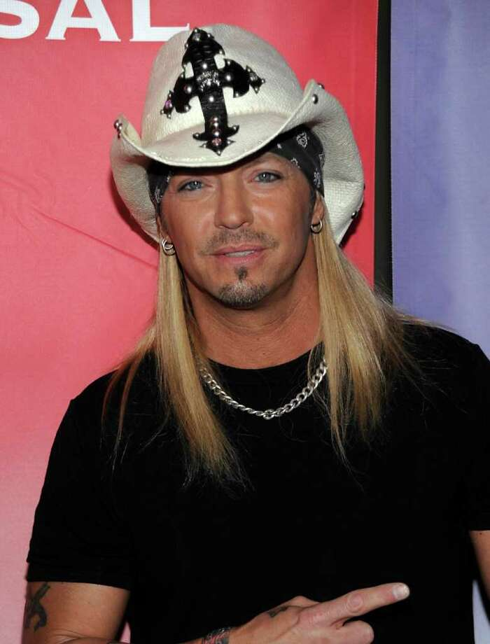 "FILE -In this Jan. 10, 2010 photo Singer Bret Michaels arrives at the NBC Universal Winter 2010 press tour party in Pasadena, Calif.  Michaels is recovering from an emergency appendectomy at a Texas hospital.  A posting on the 47-year-old rocker's Web site says Michaels was urged to go to the hospital as he was preparing to take the stage in San Antonio on Sunday night. He had been having severe stomach pains all day ""and what was assumed to be a severe case of the flu.""   The statement says Michaels had emergency surgery early Monday, April 12, 2010,  and is now ""doing well and beginning the recovery process."" Photo: AP"