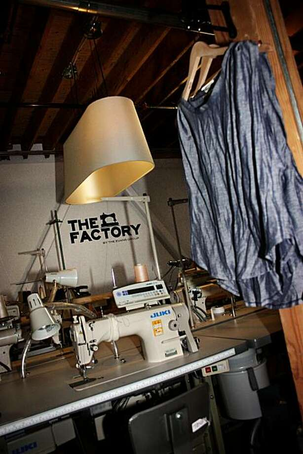 Interior shot of the Factory store on 4th Street in San Francisco. Photo: Aura O'Brien