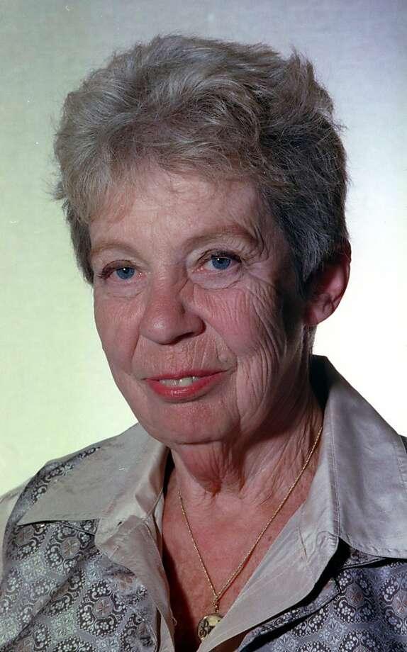 Karola Saekel was a  respected Chronicle food writer. Photo: Jerry Telfer, The Chronicle