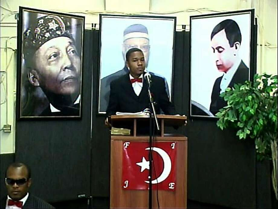Yusuf Bey IV is shown making a sermon at Your Black Muslim Bakery in Oakland in 2007. NO CREDIT. NO CREDIT Photo: The Chronicle