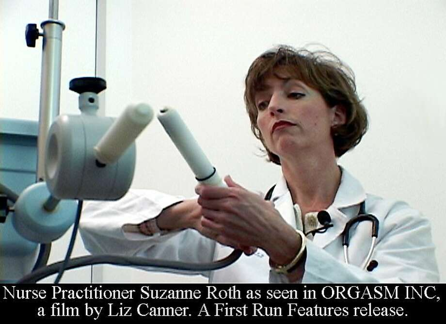 Nurse Practitioner Suzanne Roth of the Berman Center as seen in ORGASM INC, a film by Liz Canner. A First Run Features release. Photo: First Run Films