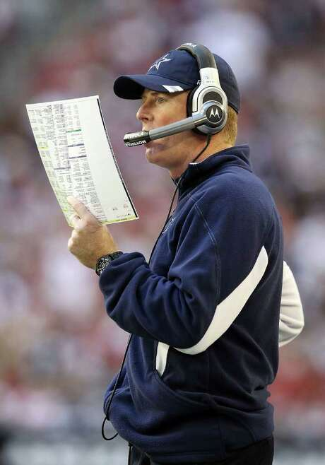 CHRISTIAN PETERSEN: GETTY IMAGES CALLED OUT: Jason Garrett's decision-making has come under scrutiny after Sunday's overtime loss at Arizona. Photo: Christian Petersen / 2011 Getty Images