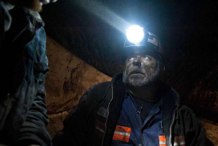 """Nigh shift mechanic/roof bolter Joe Pack was a truck driver for more than 20 years before becoming a miner three years ago.  Joe is one of the miners featured in Spike's new docu-reality series """"Coal"""" premiering on Wednesday, March 30 at 10 PM, ET/PT Photo: Matt Powers, Original Productions / Spike TV"""