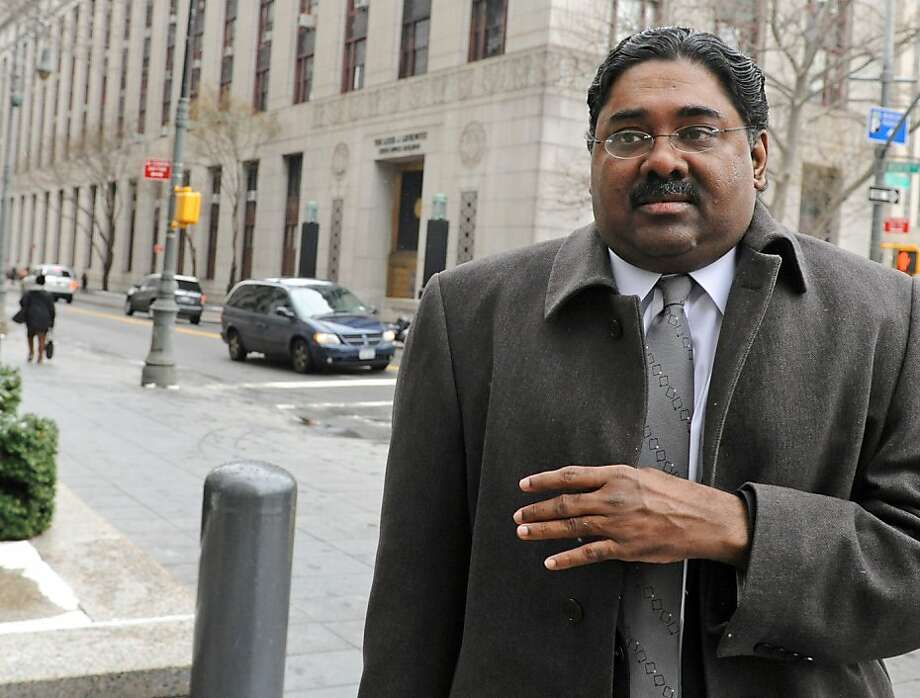 Raj Rajaratnam, the Galleon Group co-founder accused of insider trading, arrives at federal court in New York, U.S. on Thursday, March 24, 2011. Former Goldman Sachs Group Inc. board member Rajat Gupta invoked his Fifth Amendment right not to incriminate himself when the U.S. Securities and Exchange Commission sought to question him, a prosecutor said. Photographer: Louis Lanzano/Bloomberg *** Local Caption *** Raj Rajaratnam Photo: Louis Lanzano, Bloomberg