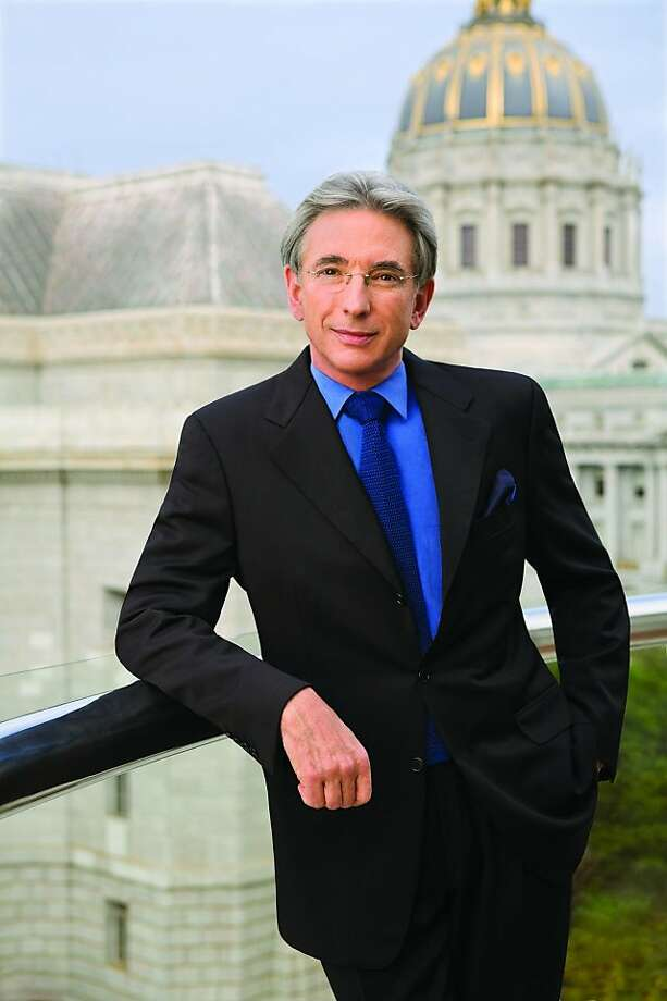 Michael Tilson Thomas, music director of the San Francisco Chronicle. Photo: San Francisco Symphony