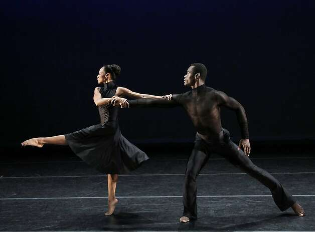 Dance Review Sizzling Start To Alvin Ailey Shows Sfgate