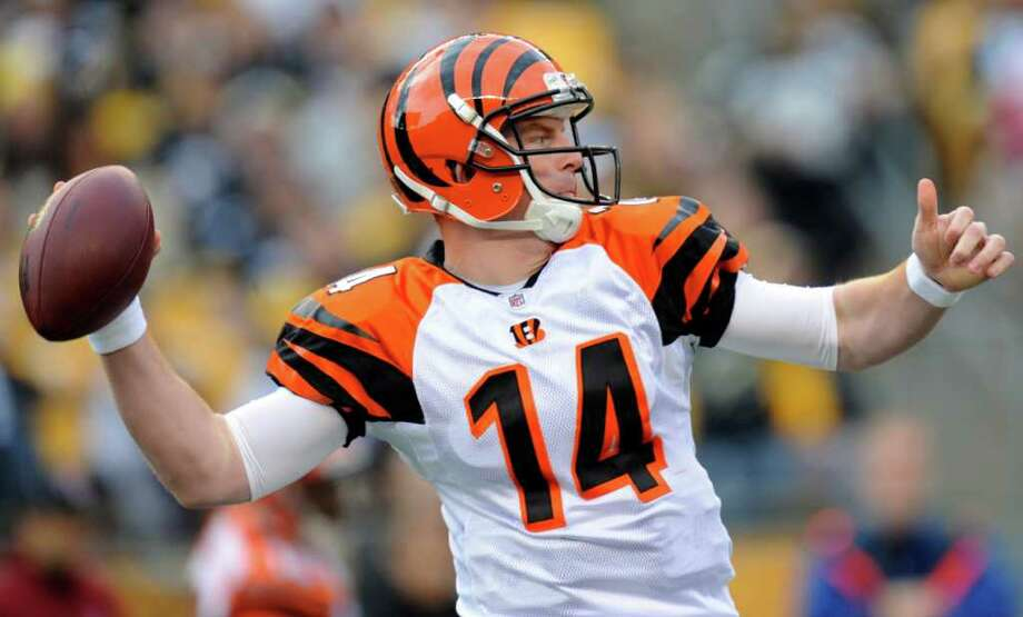 Katy native Andy Dalton has established himself as one of the NFL's most promising young quarterbacks during his rookie season with the Cincinnati Bengals. He has led the Bengals to a 7-5 record so far and is a top candidate for Rookie of the Year honors. Here's a look back at his rise to stardom. Photo: Don Wright, Associated Press / FR87040 AP