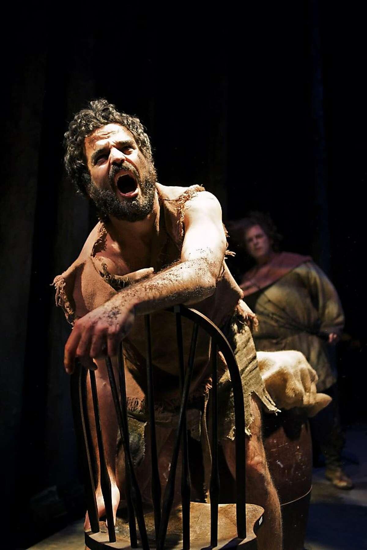 Ashkon Davaran plays the title character, based on Rasputin, in Shotgun Players' world premiere of Jason Craig's