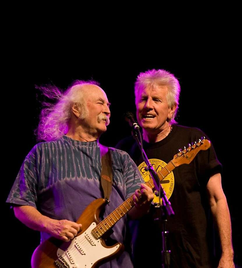 Crosby & Nash appear at the Warfield in S.F. on Monday, March 28. Photo: Http://www.crosbynash.com/