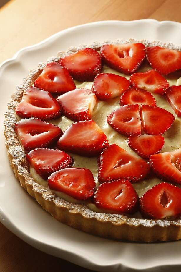 Fresh-as-Spring Strawberry Tart in San Francisco, Calif., on March 26, 2009. Food styled by Shannon Shafer. Photo: Craig Lee, The Chronicle