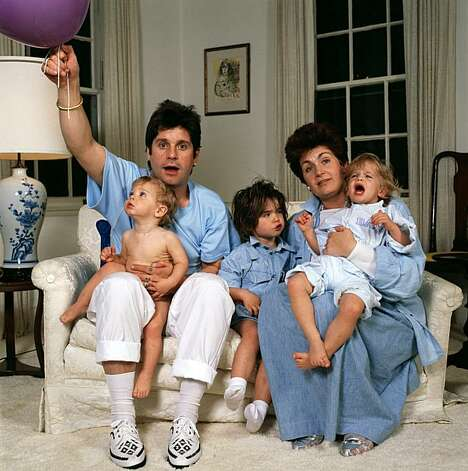 English rock singer Ozzy Osbourne and his wife Sharon and their    Ozzy And Sharon Osbourne Kids