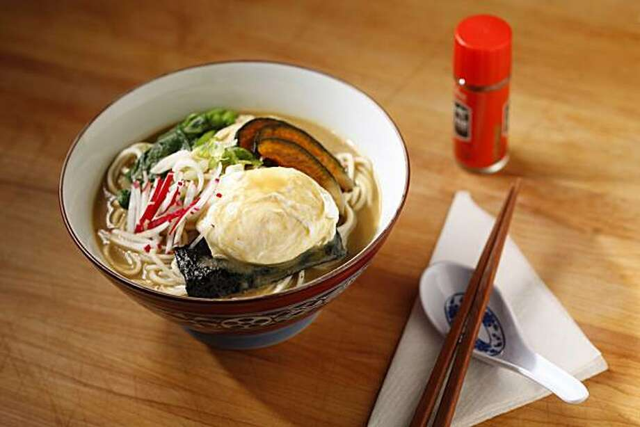 Vegetable ramen as seen in San Francisco, Calif., on December 22, 2010. Photo: Craig Lee, Special To The Chronicle