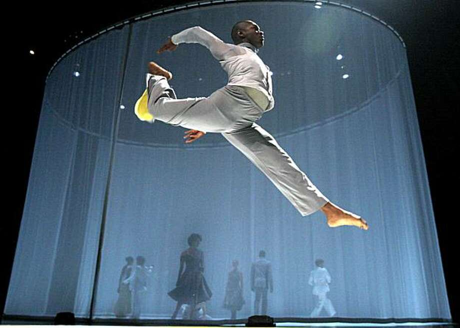 Cast member Antonio Brown dances in Bill T. Jones/Arnie Zane Dance Company production of Fondly Do We Hope and Fervently Do We Pray, now playing at the San Francisco's Yerba Buena Center For The Arts. Sept 30, 2009Cast member Antonio Brown dances in Bill T. Jones/Arnie Zane Dance Company production of Fondly Do We Hope and Fervently Do We Pray, now playing at the San Francisco's Yerba Buena Center For The Arts. Sept 30, 2009  Ran on: 10-03-2009 Photo caption Dummy text goes here. Dummy text goes here. Dummy text goes here. Dummy text goes here. Dummy text goes here. Dummy text goes here. Dummy text goes here. Dummy text goes here.###Photo: billt03_ph1254182400SFC###Live Caption:Cast member Antonio Brown dances in Bill T. Jones-Arnie Zane Dance Company production of Fondly Do We Hope and Fervently Do We Pray, now playing at the San Francisco's Yerba Buena Center For The Arts. Sept 30, 2009###Caption History:Cast member Antonio Brown dances in Bill T. Jones-Arnie Zane Dance Company production of Fondly Do We Hope and Fervently Do We Pray, now playing at the San Francisco's Yerba Buena Center For The Arts. Sept 30, 2009###Notes:Lance Iversen 415-297-9395 CQ###Special Instructions:MANDATORY CREDIT FOR PHOTOG AND SF CHRONICLE-NO SALES-MAGS OUT-INTERNET ONLINE_YES_OUT-TV OUT.   MANDATORY CREDIT FOR PHOTOG AND SF CHRONICLE/NO SALES-MAGS OUT-INTERNET ONLINE_YES OUT-TV OUT. Photo: Lance Iversen, The Chronicle