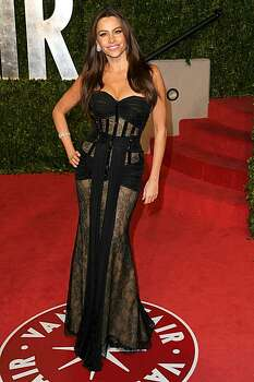 WEST HOLLYWOOD, CA - FEBRUARY 27:  Actress Sofia Vergara arrives at the Vanity Fair Oscar party hosted by Graydon Carter held at Sunset Tower on February 27, 2011 in West Hollywood, California. Photo: Craig Barritt, Getty Images