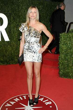 Actress Cameron Diaz arrives at the Vanity Fair Oscar party hosted by Graydon Carter held at Sunset Tower on February 27, 2011 in West Hollywood, California. Photo: Pascal Le Segretain, Getty Images