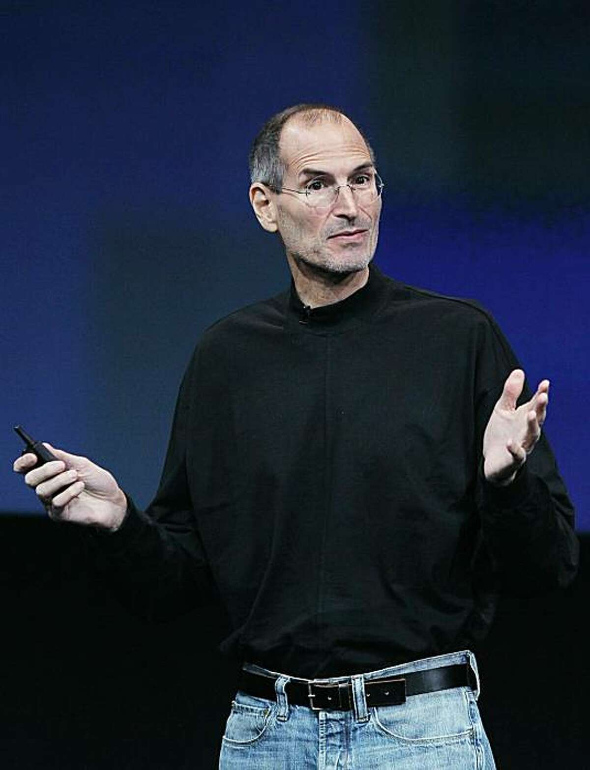 Apple CEO Steve Jobs speaks during an Apple special event at the company's headquarters on Oct. 20, 2010 in Cupertino. Jobs announced on Jan. 17 that the Apple board has granted him a medical leave of absence.