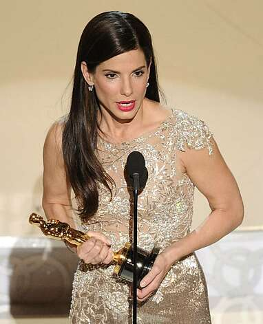 Sandra Bullock accepts the Oscar for best performance by an actress in a leading role for ?The Blind Side? at the 82nd Academy Awards Sunday, March 7, 2010, in the Hollywood section of Los Angeles. Photo: Mark J. Terrill, AP