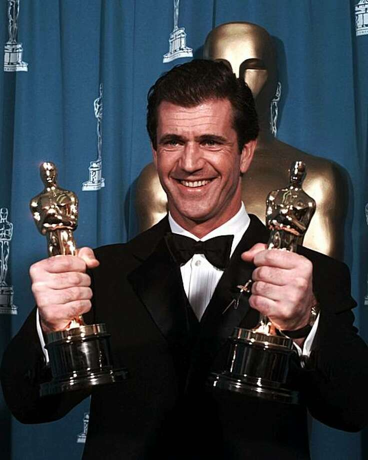 1996: Mel Gibson Photo: Eric Draper