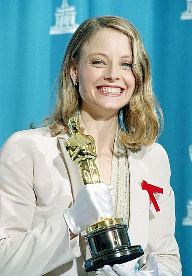 1992: Jodie Foster Photo: Reed Saxon