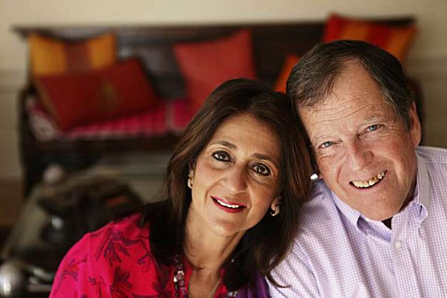 Shahnaz Taplin Chinoy (l to r) and Carl Pope are seen at their home on Friday, November 26, 2010 in San Francisco, Calif. Photo: Lea Suzuki, The Chronicle